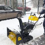 Снежный дебют: счёт в пользу дворников