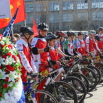 Участники патриотического веломарша проедут 12 тысяч км по местам боевой славы