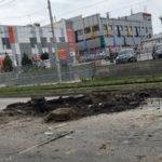 Таганрогский «Водоканал» ликвидирует аварию на ул.Фрунзе своими силами