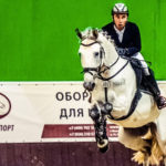 «Golden Horse» провёл первый турнир в помещении по конкуру