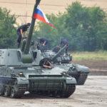 В ритме танкового вальса