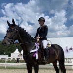 Жокей «Golden Horse» отличилась на международном турнире по конкуру