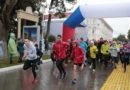 В Геленджике новый год начался с забега под дождём